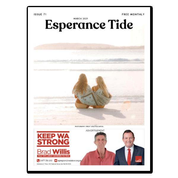 Esperance Tide Front Cover