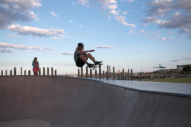 Skate Trick Of The Week: Frontside Air