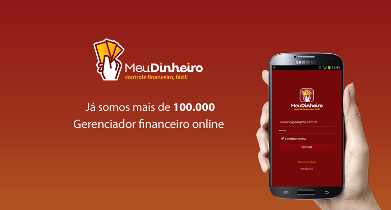 Aplicativo Android e Web de gerenciamento financeiro.