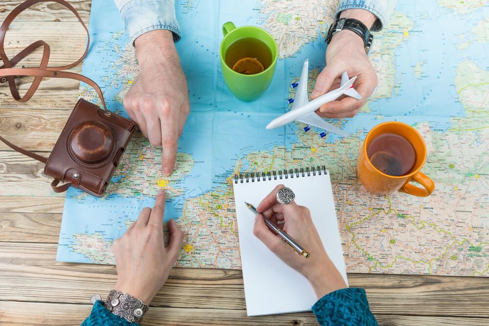 4 passos para você fazer um planejamento financeiro de viagem