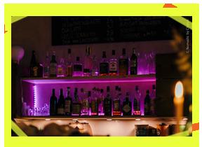 Bottles in the bar