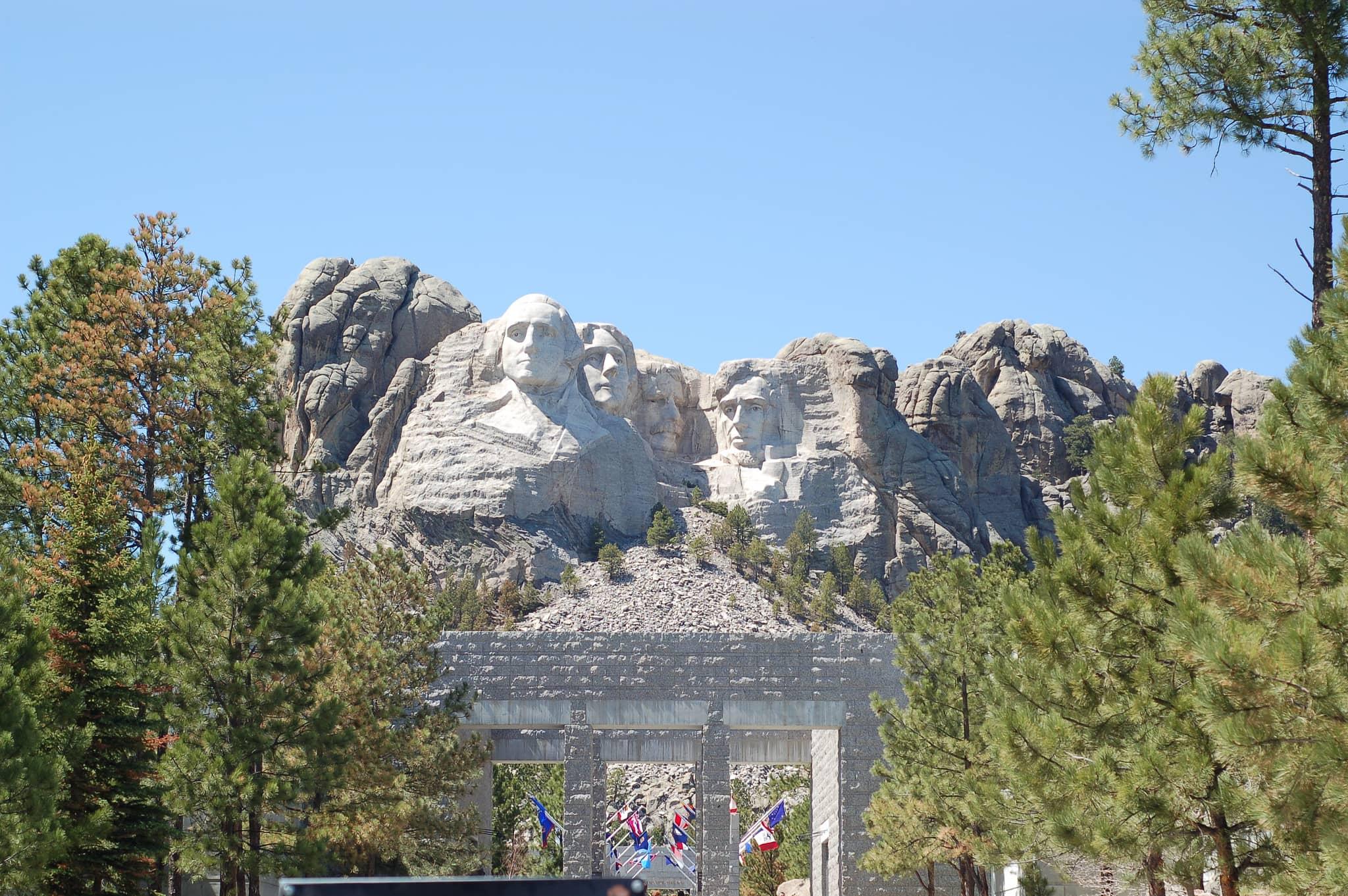 Mount Rushmore isn't pet-friendly