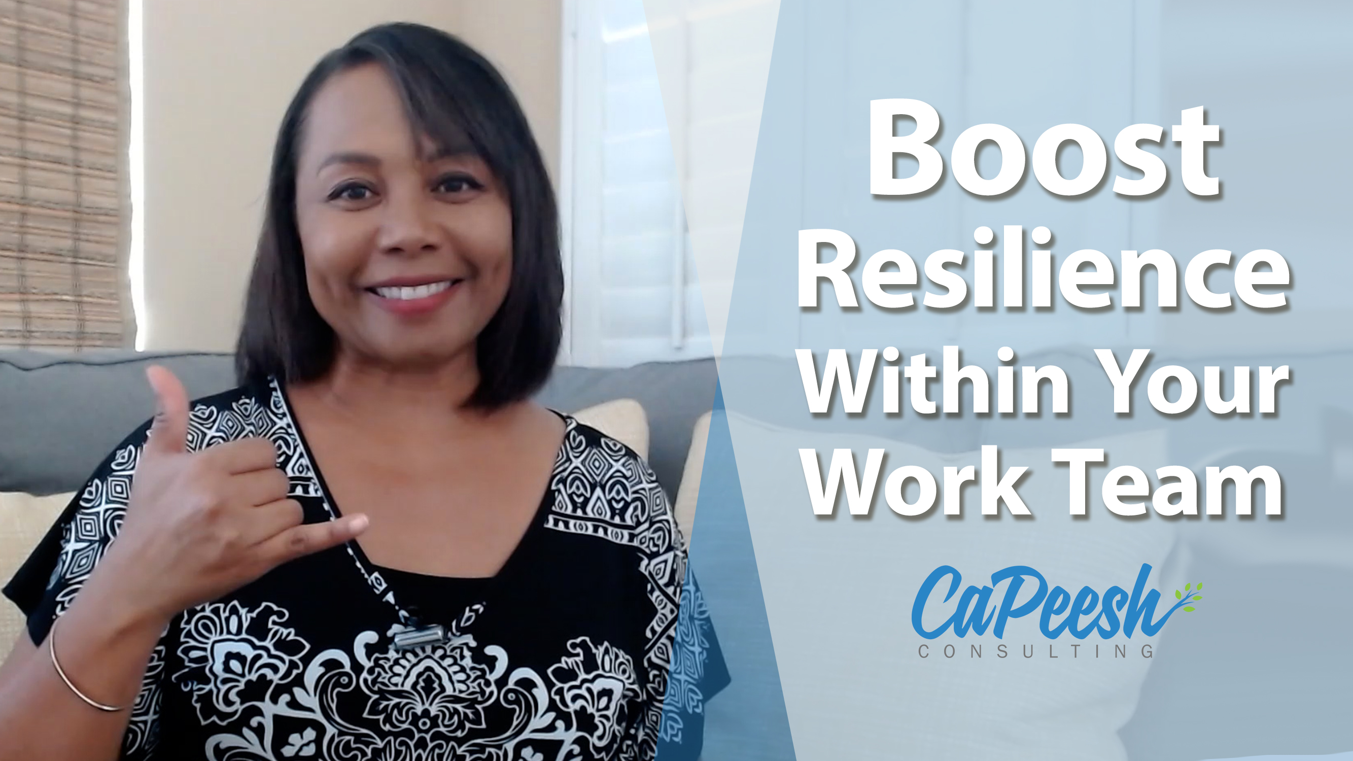 Boosting Your Resilience