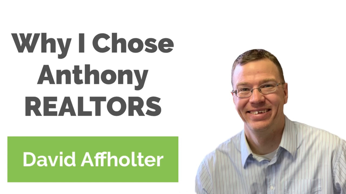 Why You Should Work for Anthony REALTORS