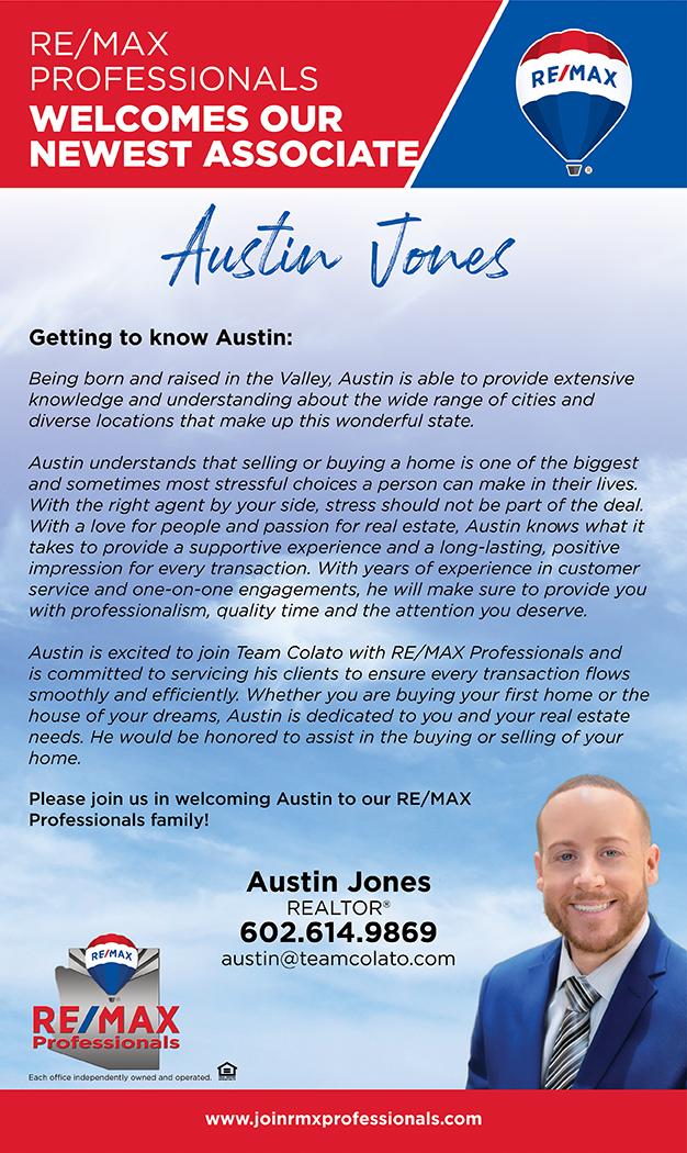Welcome to RE/MAX Professionals Austin Jones