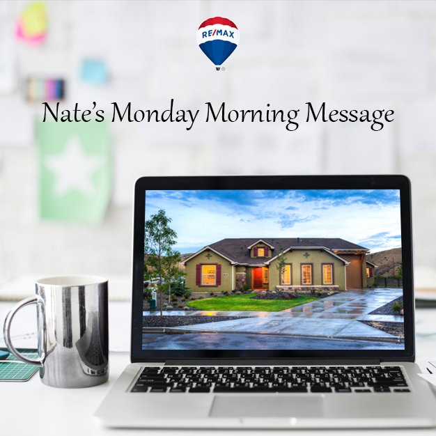 Nate's Monday Morning Message Volume 986