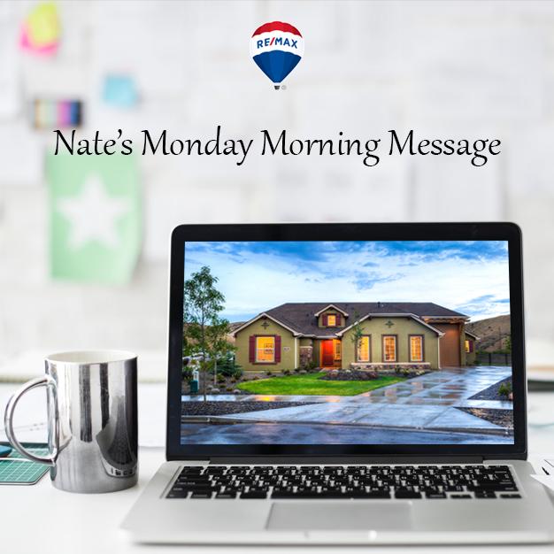 Nates Monday Morning Message Volume 987