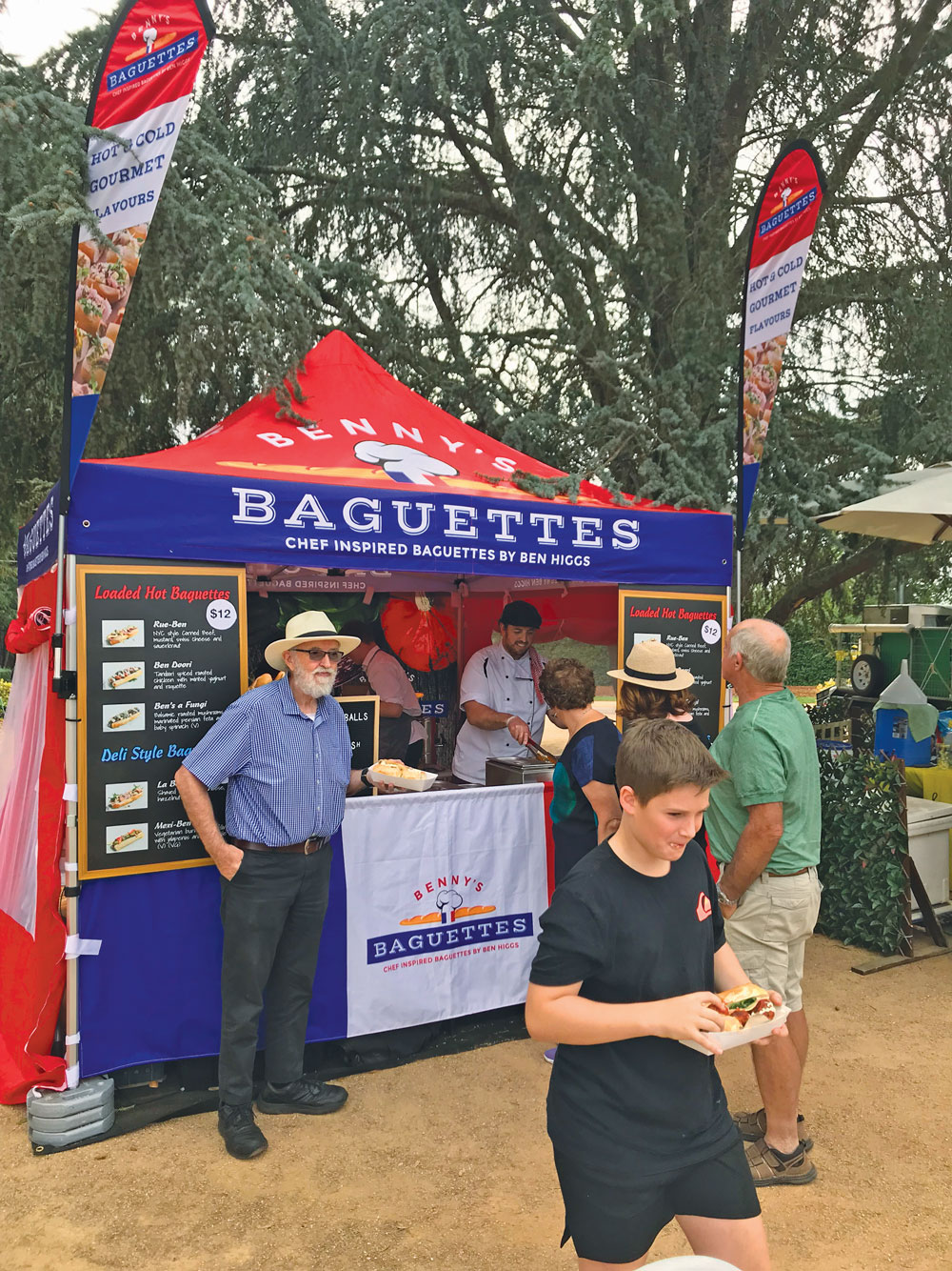 Benny's Baguettes at Festivals and Events