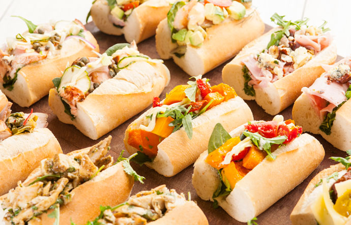Benny's Fresh Baguettes for Event Catering