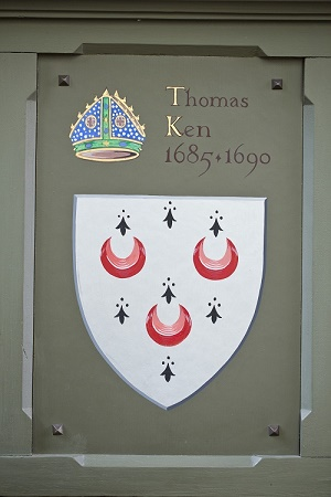 Thomas Ken's Coat of Arms