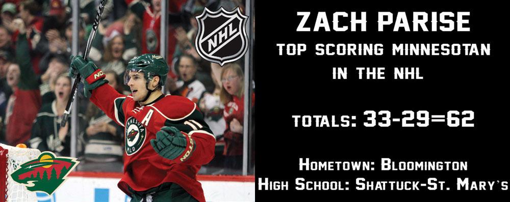 Zach Parise Top Scorer