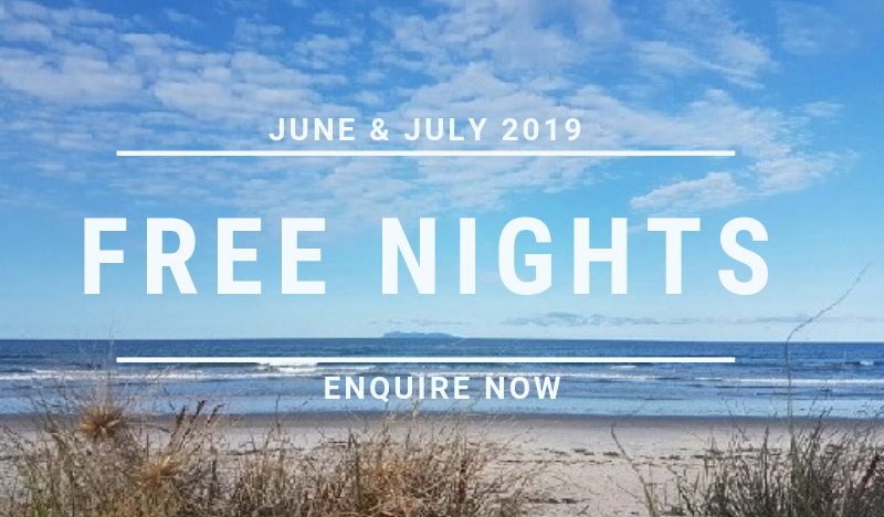 Free Nights at Beach Pacific Apartments