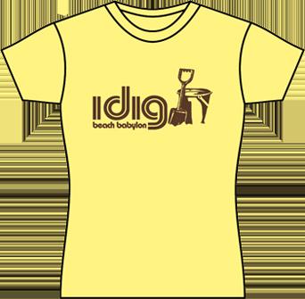 yellow womens tshirt