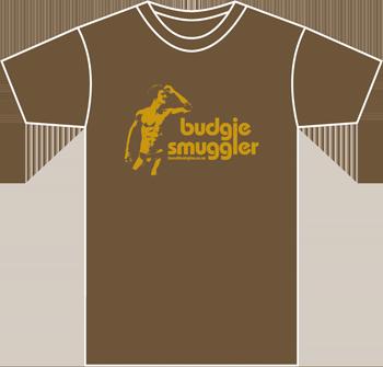 brown mens tshirt