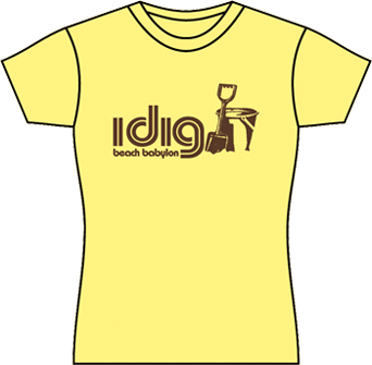 yellow womens tshirt