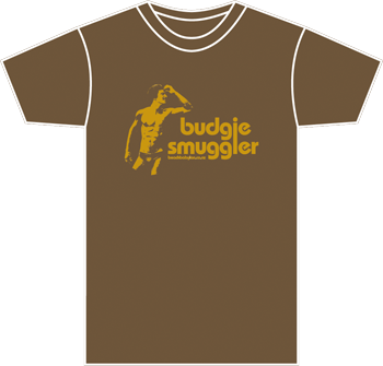 brown mens tshirt