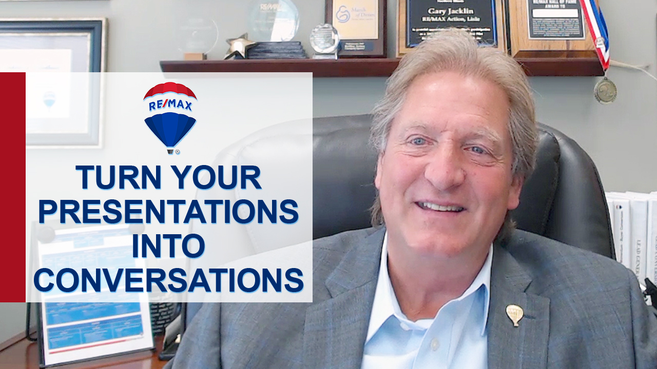 Are You Turning Your Listing Presentations Into Conversations?