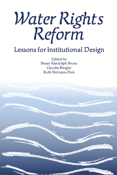 Water Rights Reform: Lessons for Institutional Design book cover