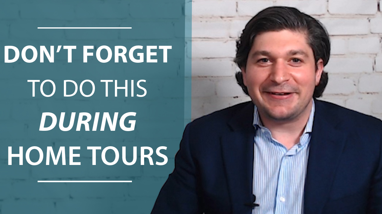 The Importance of Taking Notes When Touring Homes