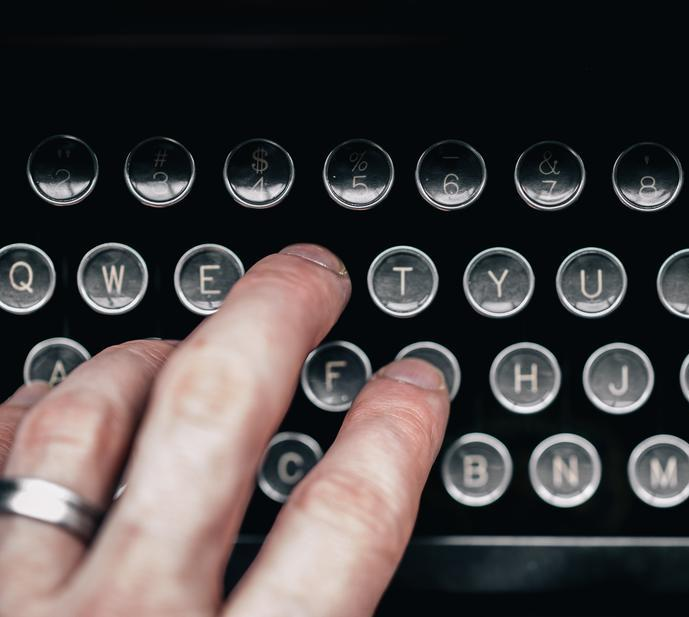 Typing Letter