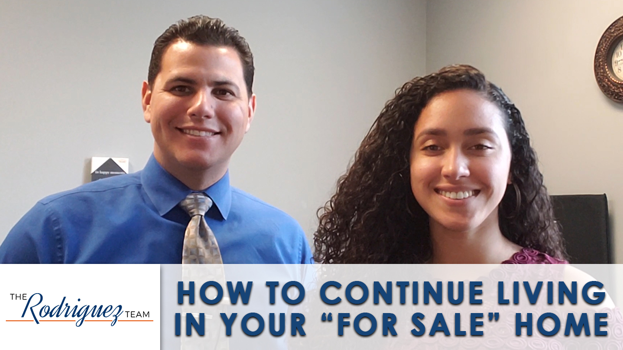 How Should You Live in Your Home While Selling It?