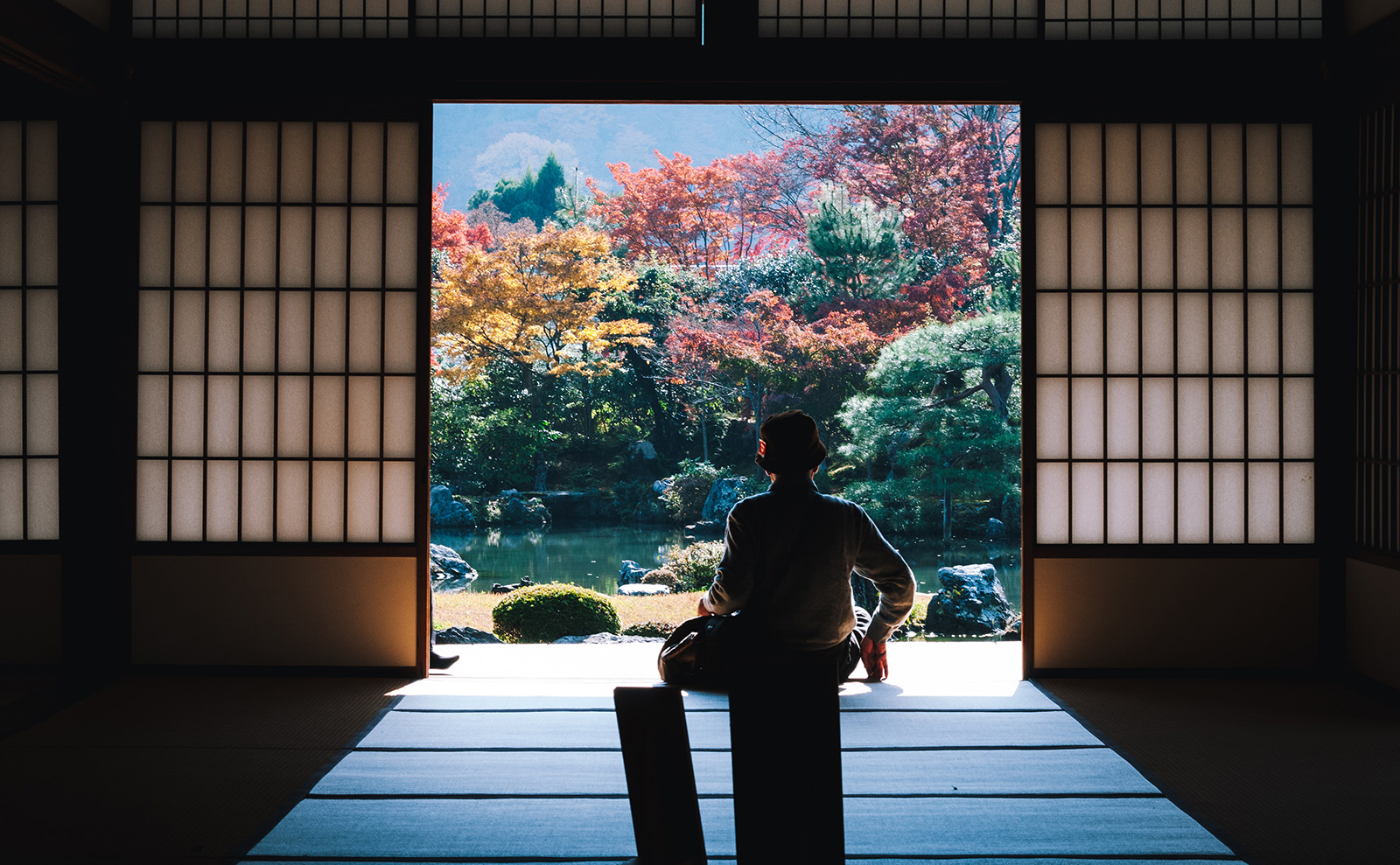 Tenryu-ji Temple, Kyoto-shi, Japan