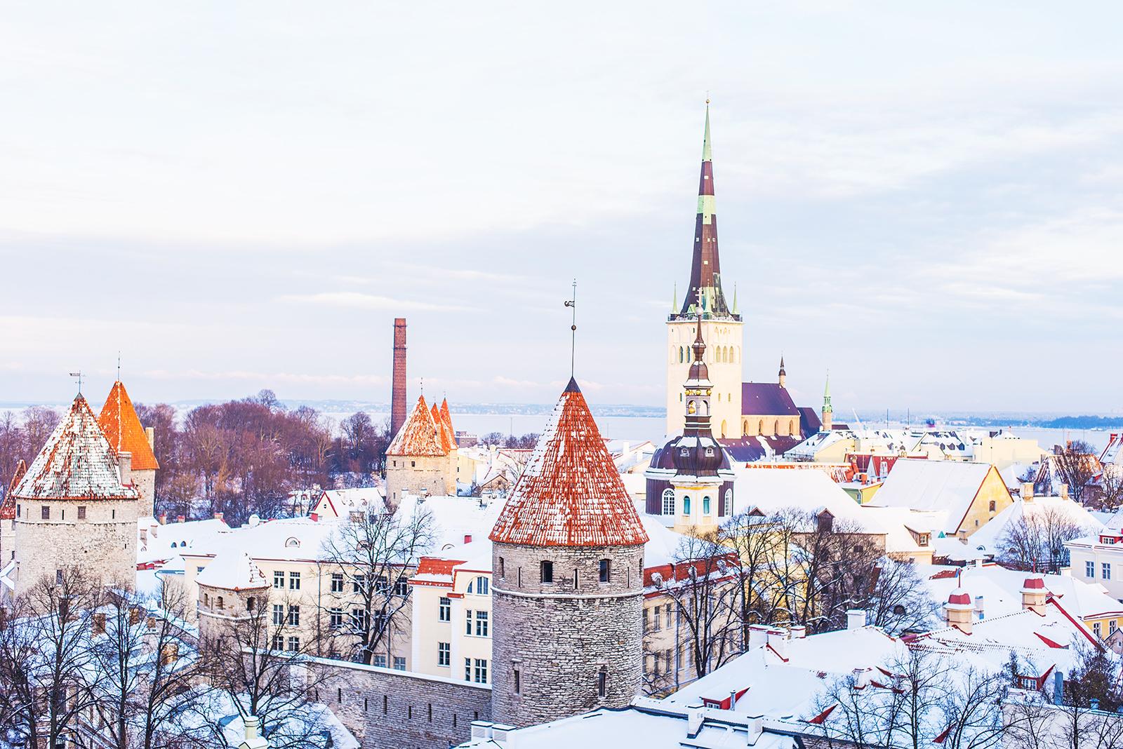 old town of tallinn, tallinn, estonia