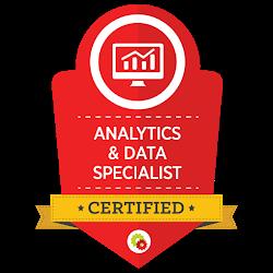 Analytics and Data Certified - Digital Marketer