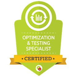 Optimization and Testing Certified - Digital Marketer