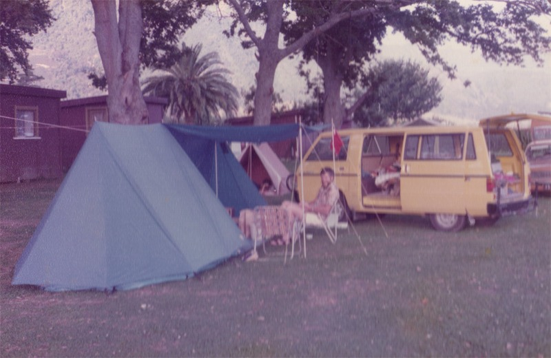 Camping in the 80's at Te Aroha Holiday Park