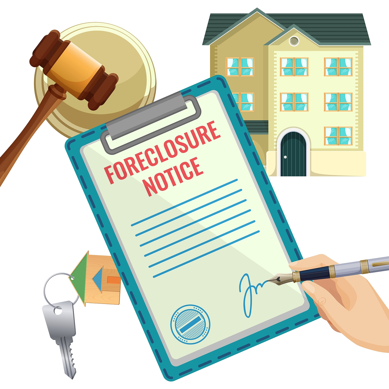 What Is the Foreclosure Process in California