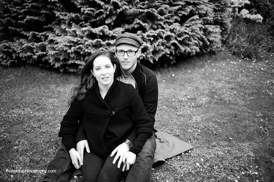 Edinburgh photographer making portraits at Princes Street gardens