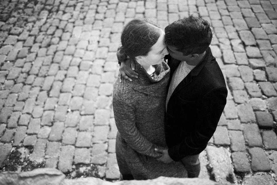 Cosy, romantic photo session Edinburgh
