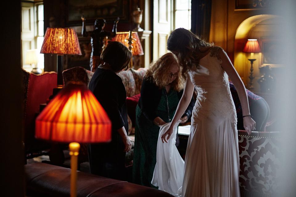 Artistic wedding photos Edinburgh