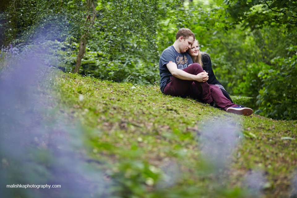 Photo session at Corstorphine Hill in Edinburgh