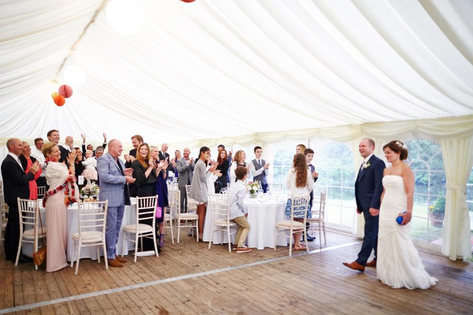 Eastwood House wedding reception