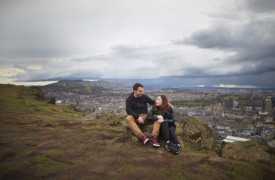 Edinburgh City couple photo sessions