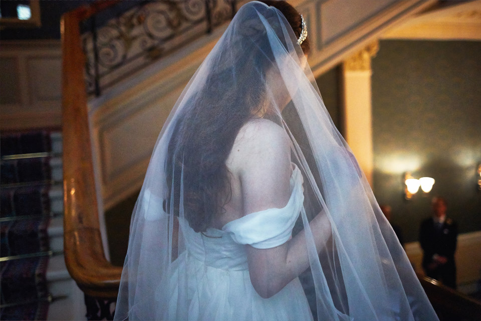 creative Edinburgh wedding photography