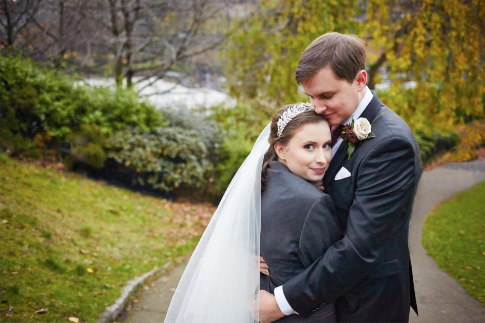 beautiful Edinburgh wedding photography