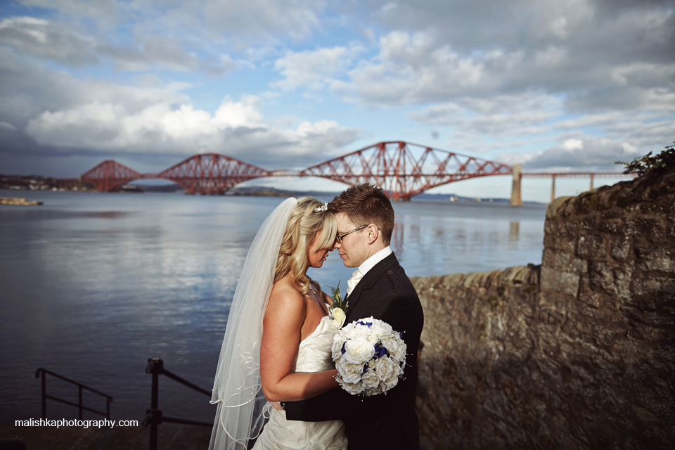 Forth Rail Bridge and a lovely couple
