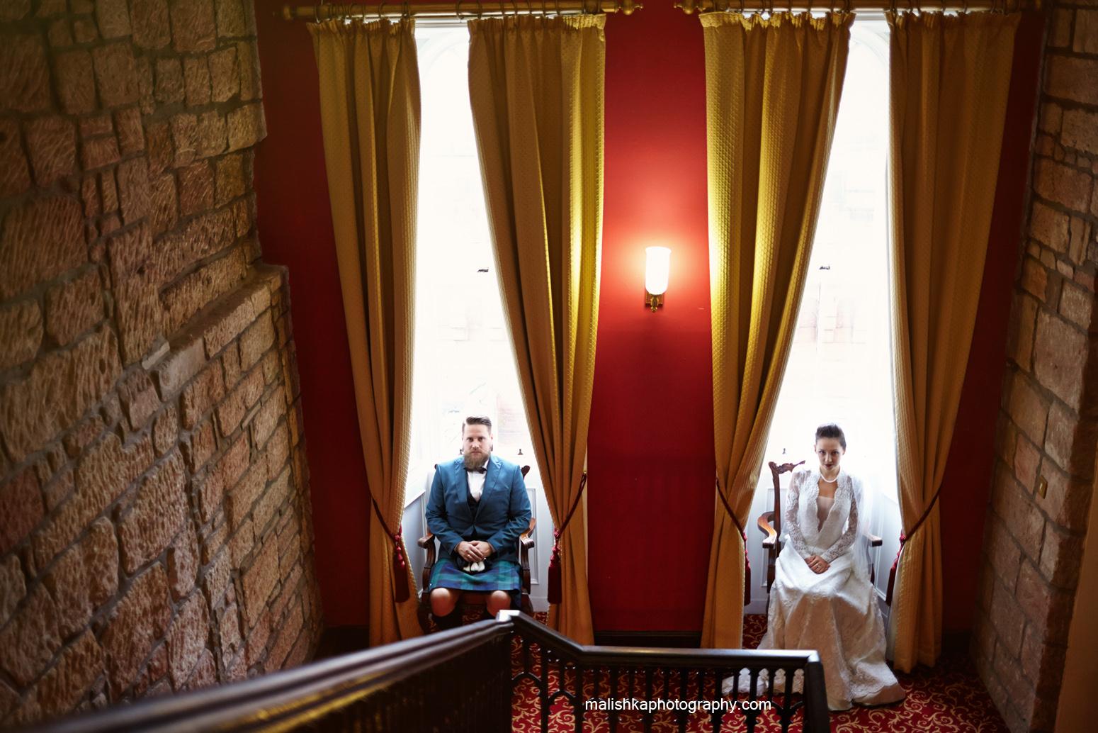 Indoors of Dalhousie Castle