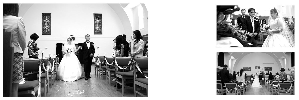 Wedding Ceremony at Portobello Church