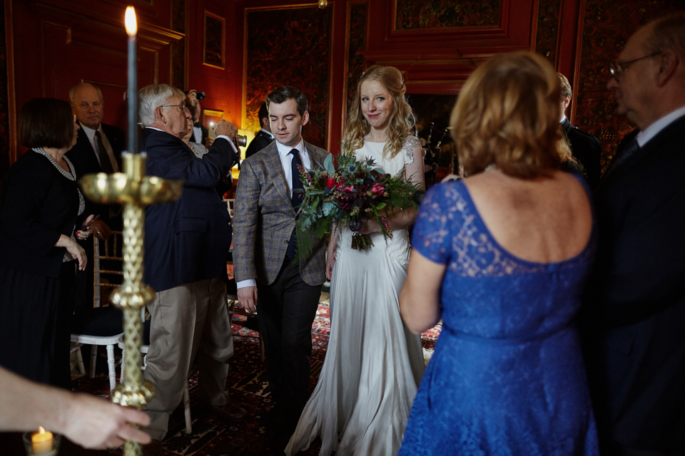 Reportage wedding photographer Edinburgh