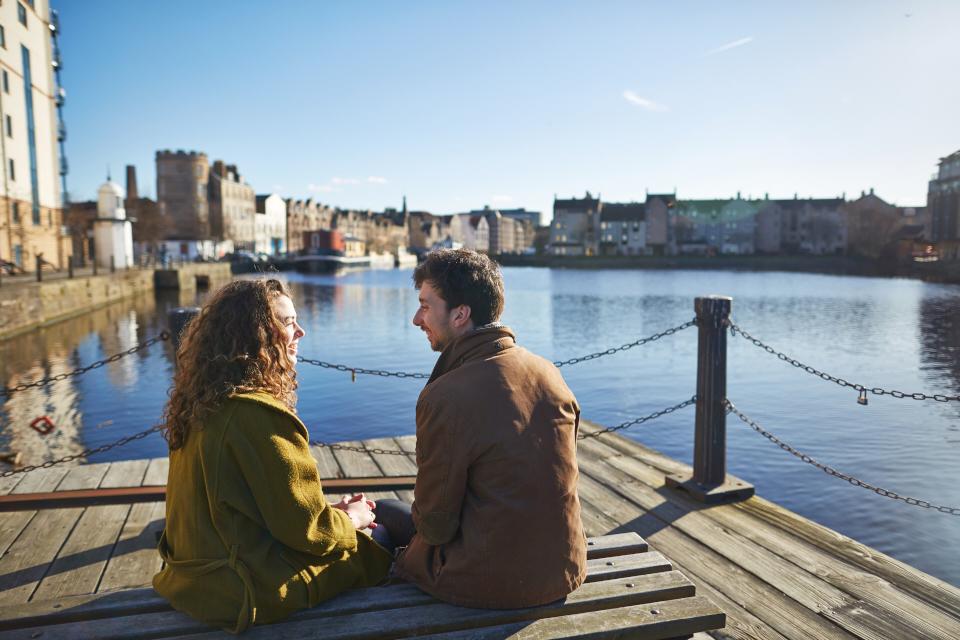 Edinburgh pre-wedding photography