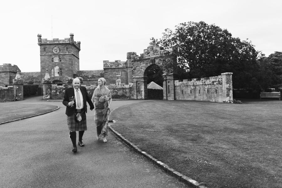 lovely couple on the grounds of Culzean Castle