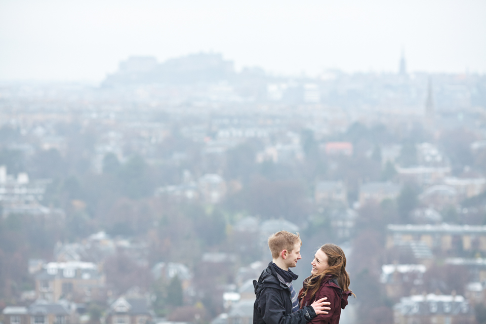 Edinburgh couple portraits