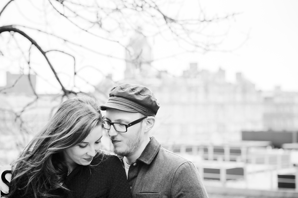 Edinburgh couple photo shoot
