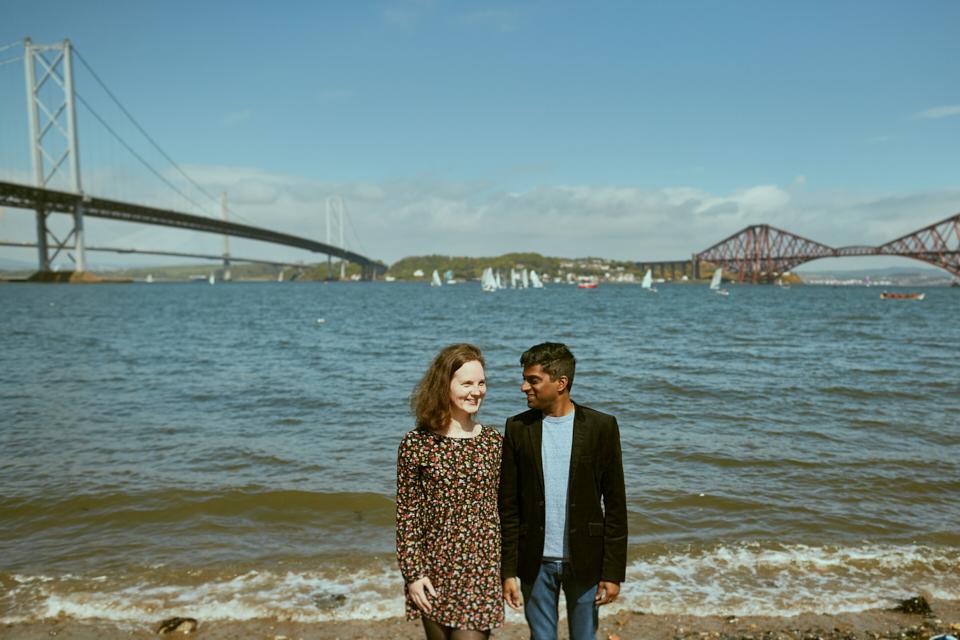 Engagement photo session Scotland