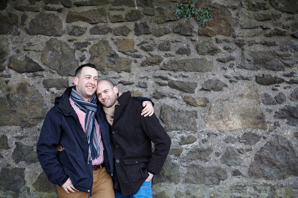 Gay couple photo sessions Edinburgh