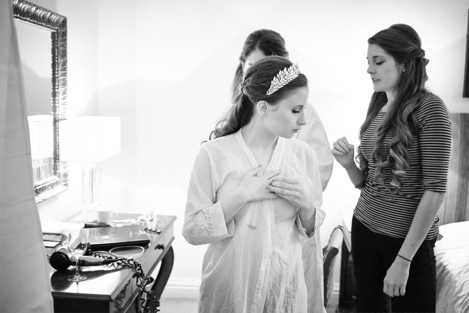 Edinburgh reportage wedding photography